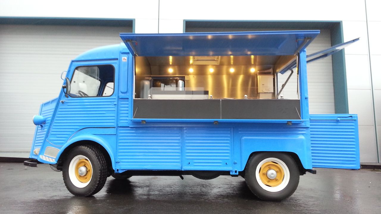 Citroen Type H Food Truck