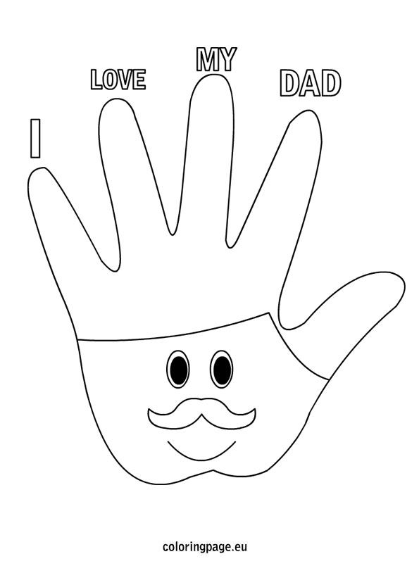 i-love-you-dad2 Plotter Pinterest - new coloring pages i love you daddy