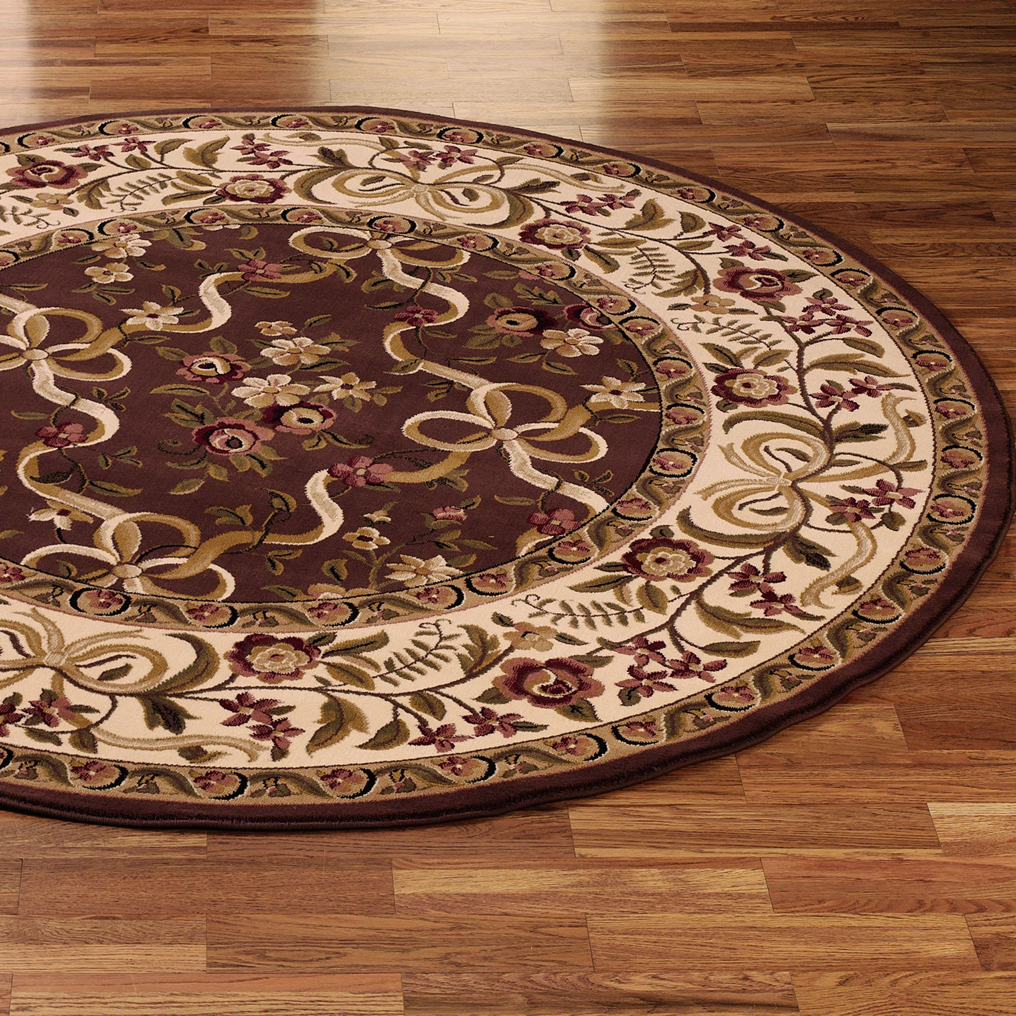 Charming Round Rugs 6 Ft Designs