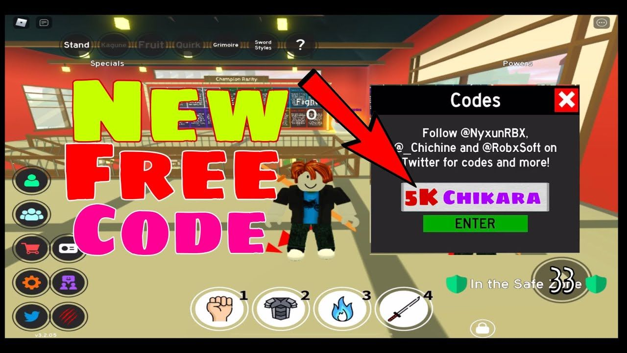 What Is The New Code For Anime Fighting Simulator