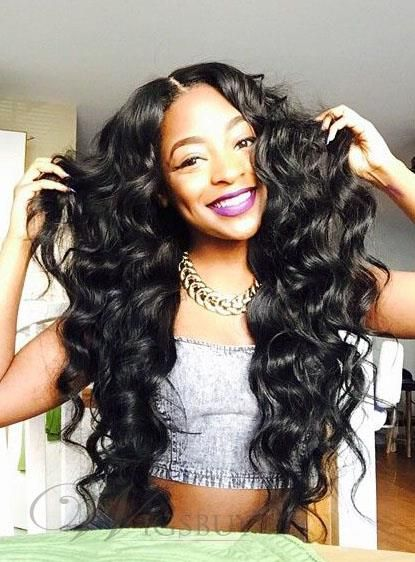 Human Hair Weave African American Deep Wave India Human Hair Extensions 1pc Hair Waves Weave Hairstyles Hair