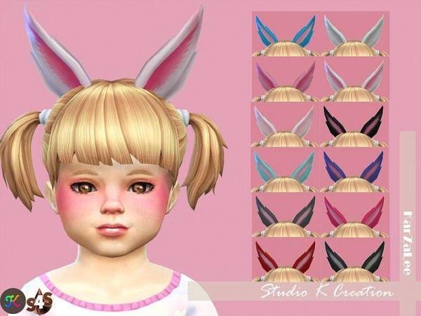 Studio K Creation: Rabbit ears for toddler • Sims 4 Downloads