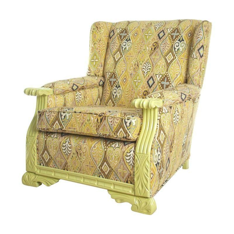 Celadon Green Club Chair - $1,899 Est. Retail - $1,299 on Chairish.com