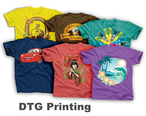 DTG Printing Tee Shirt from NYFifth