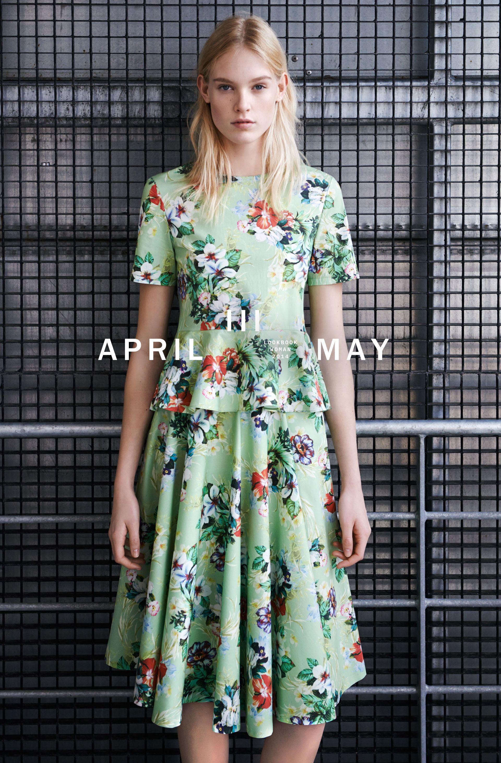 April zara lookbook
