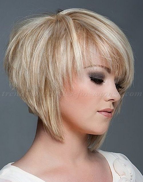 Bob hairstyles bob haircut a line bob haircut trendy hairstyles for hair and - Coupe courte femme black ...