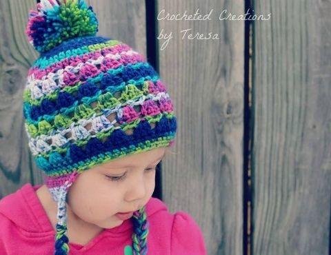 Snow Bird Hat Free Toddler Hat Pattern Crochet Pinterest