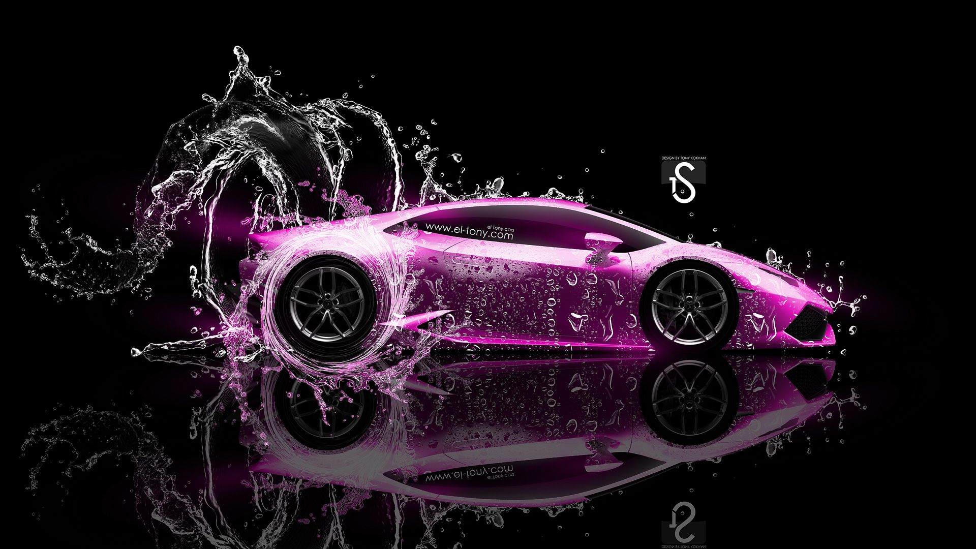Lamborghini Huracan Tuning Front Water Car 2014   Lamborghini Huracan Fantasy  Plastic Bull Car Huracan Tuning Front Crystal City Car IPhone X Back Logo  ...