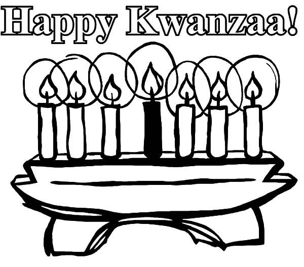Happy Kwanzaa Day Kinara Coloring Pages Kids Play Color Happy Kwanzaa Kwanzaa Colors Coloring Pages