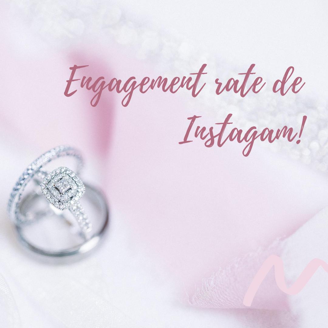 Engagement Rate De Tu Instagram In 2020 Engagement Instagram Engagement Rings