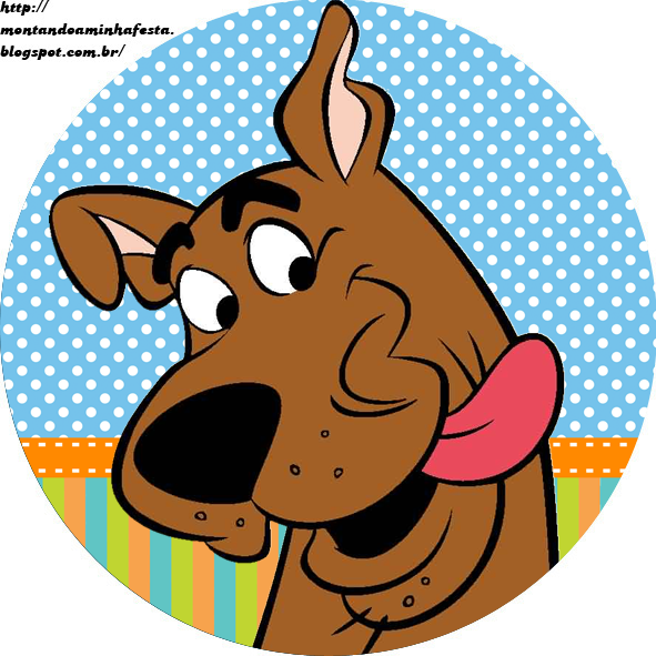 Kit Digital Scooby Doo Kit Completo Scooby Doo Personalizados