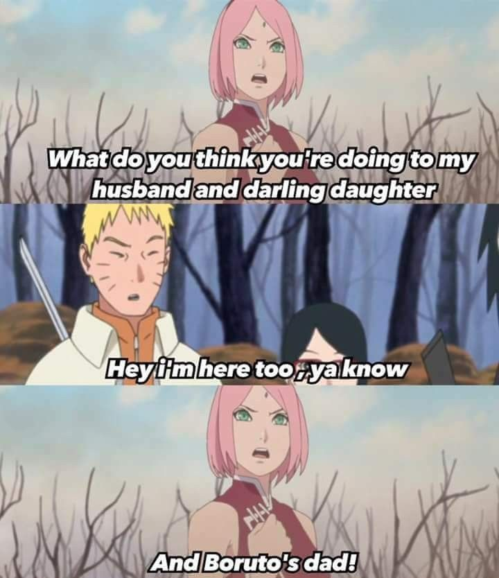 Haha Poor Naruto Is Ignored Again By Sakura: Pin By Shield Agent On Naruto