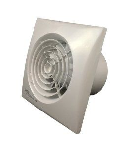 "Envirovent SIL100T ""Silent"" Bathroom Extractor Fan - for 4"" 100mm ducting: Amazon.co.uk: Kitchen & Home"