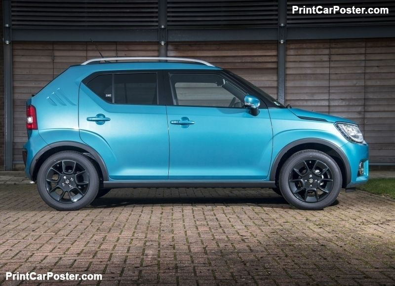 Suzuki Ignis 2017 Poster Suzuki Ignis Four Wheel Drive Car Cars