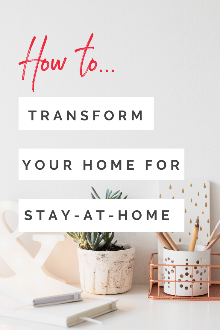 Stay At Home has become a way of life, redesign your home to fit your work and homelife needs.