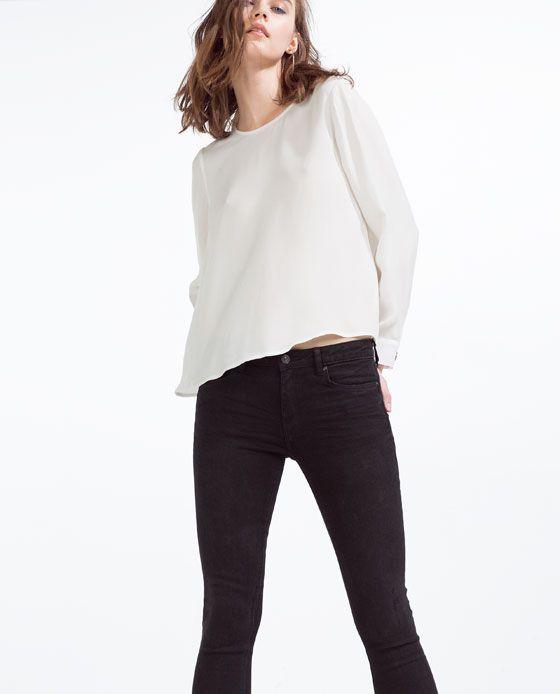 Image 2 de JEAN SKINNY TAILLE NORMALE SOFT TOUCH de Zara