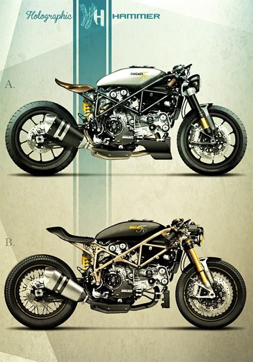 Motorcycles Bikers And More Cafe Racer Ducati 999 S 2004