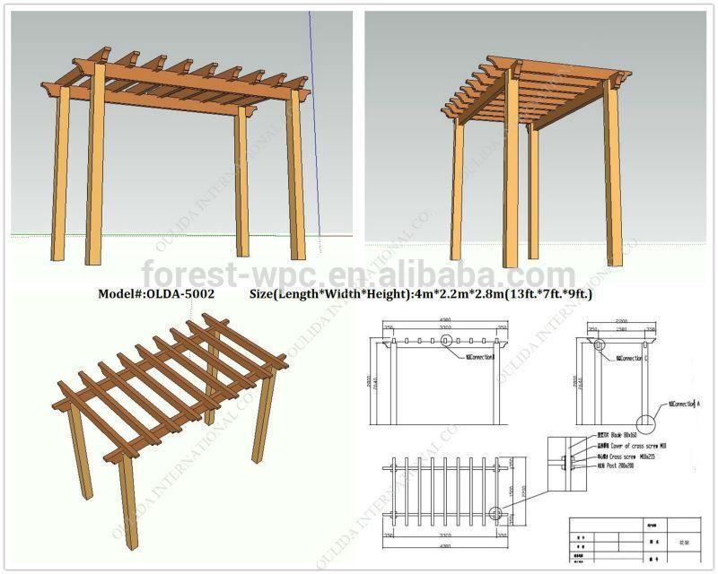 Outdoor Gazebo Wpc Portable Home Gazebo Cheap Wooden Gazebos