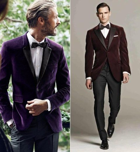 35 Velvet Suits And Accessories For Grooms Groomsmen Hywedd