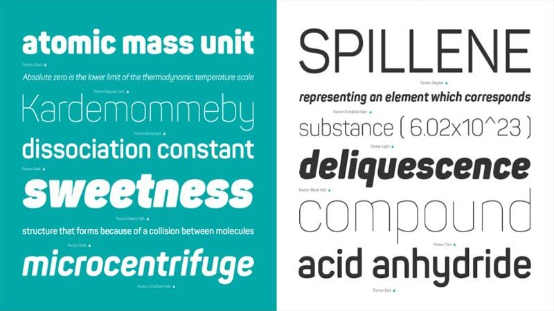 Panton Font Family Free Download - All Your Fonts | Panton
