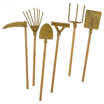 Mini outils de jardin (x 12)   diy 2   Pinterest