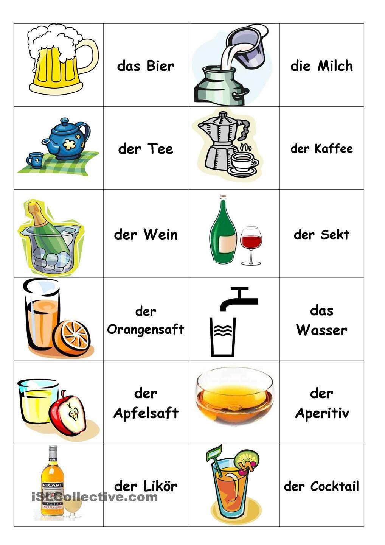 getr nke memory wortschatz deutsch german language learning und german words. Black Bedroom Furniture Sets. Home Design Ideas