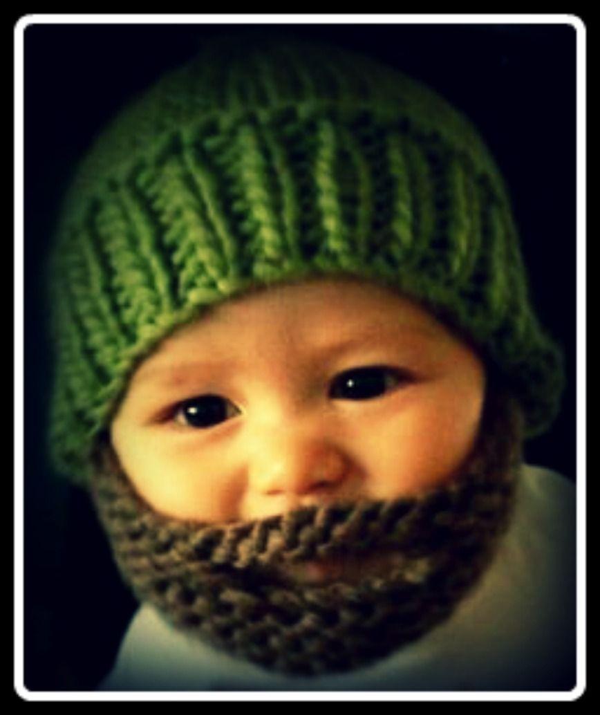 crochet pattern bearded hat | Awesome Gift Giving Ideas | Pinterest ...