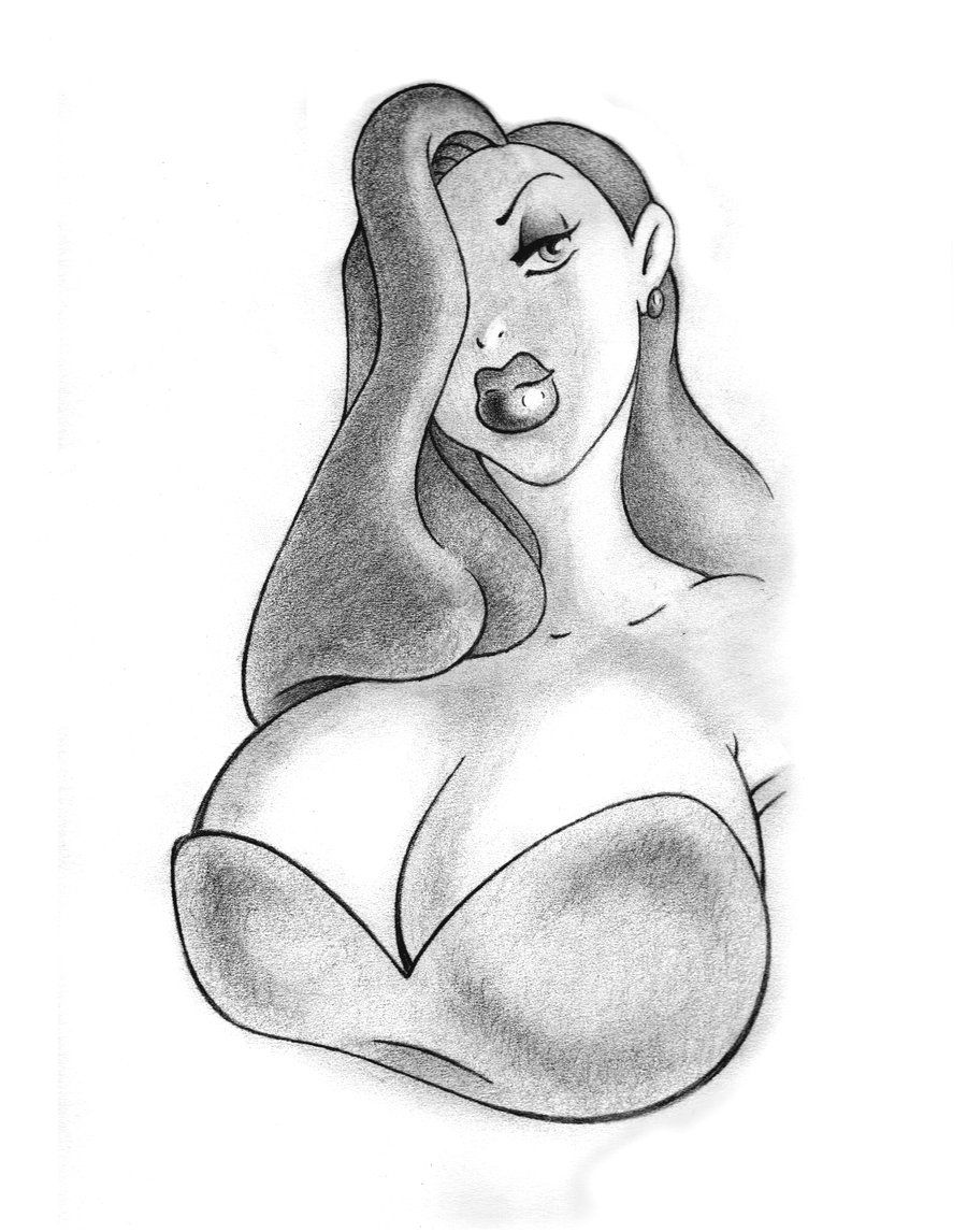 The connotation of breast size in animated and illustrated media bodylore