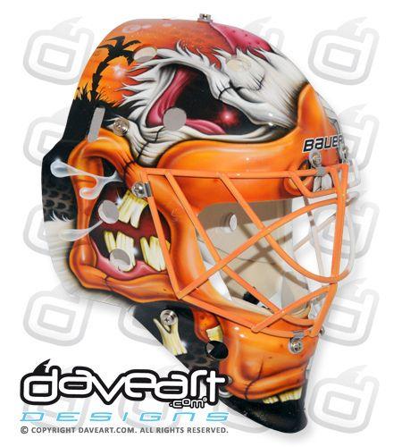 Viktor Fasth of the Anaheim Ducks 2013 Mask | Hockey ...