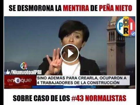 Gobierno de Peña Nieto miente sobre la versión de los #43 Normalistas