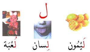 نتيجة بحث الصور عن ورقة عمل حرف اللام للصف الاول Farah Cards Letters