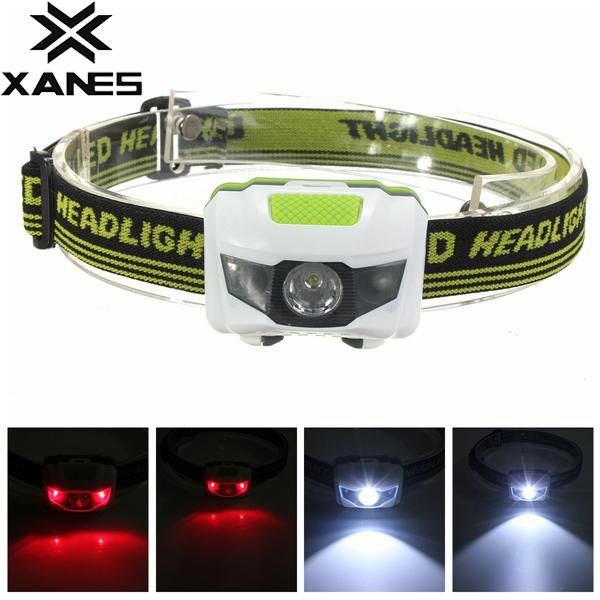 LED COB Headlamp Headlight Head Lamp Light Torch Flashlight Portable 3 Modes AAA