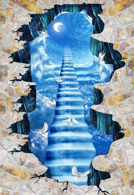 Piso Wallpaper 3d Moda De Diseno De Interiores Playa Diseno 3d Papel Pintado Para Bano Living Room Decor Wallpaper Wallpaper Piso