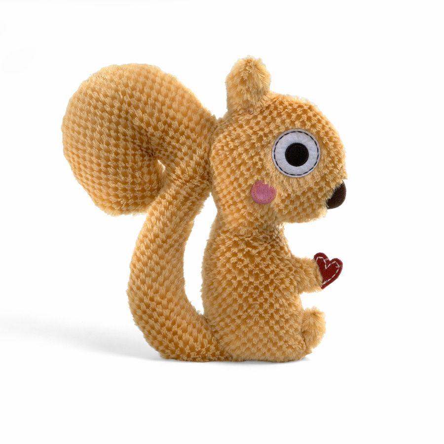 Clayton Happi Squirrel 13 Happy Squirrel Huggable Teddy Bear Baby Squirrel [ 900 x 900 Pixel ]