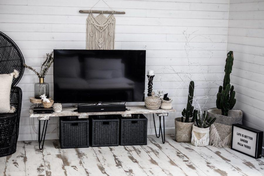 Mon meuble tv diy deco meuble tv id e meuble tv Diy meuble tv