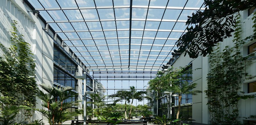 Openable Glass Roofs Glass Roof Fibreglass Roof Roof Architecture