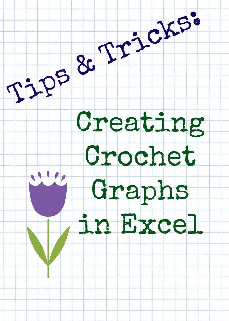 Tips & Tricks 2: Crochet Graphs in Excel … | c2c crochet | Graph…