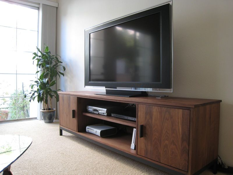 Innovative Enclosed TV Cabinets For Flat Screens Design: Modern Wooden  Style Enclosed TV Cabinets For