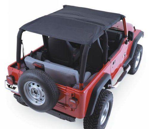 Rampage 94215 Denim Black Topper With Pocket By Rampage Http Www Amazon Com Dp B001omna1y Ref Cm Sw Jeep Wrangler Tops Jeep Wrangler Jeep Wrangler Soft Top