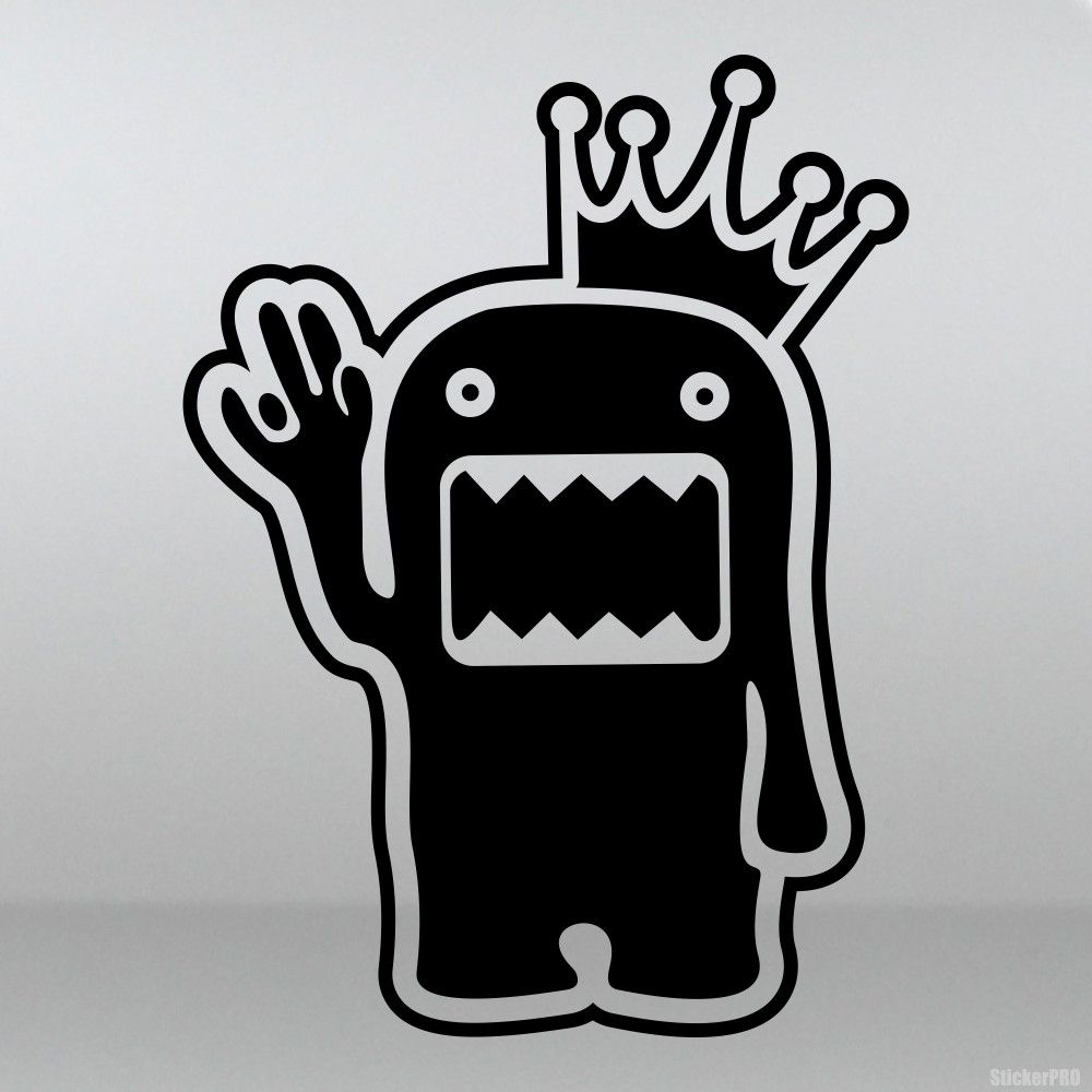 Decal Domo Kun King Shocker Jdm Doodle Art Graffiti Art Vinyl Decals