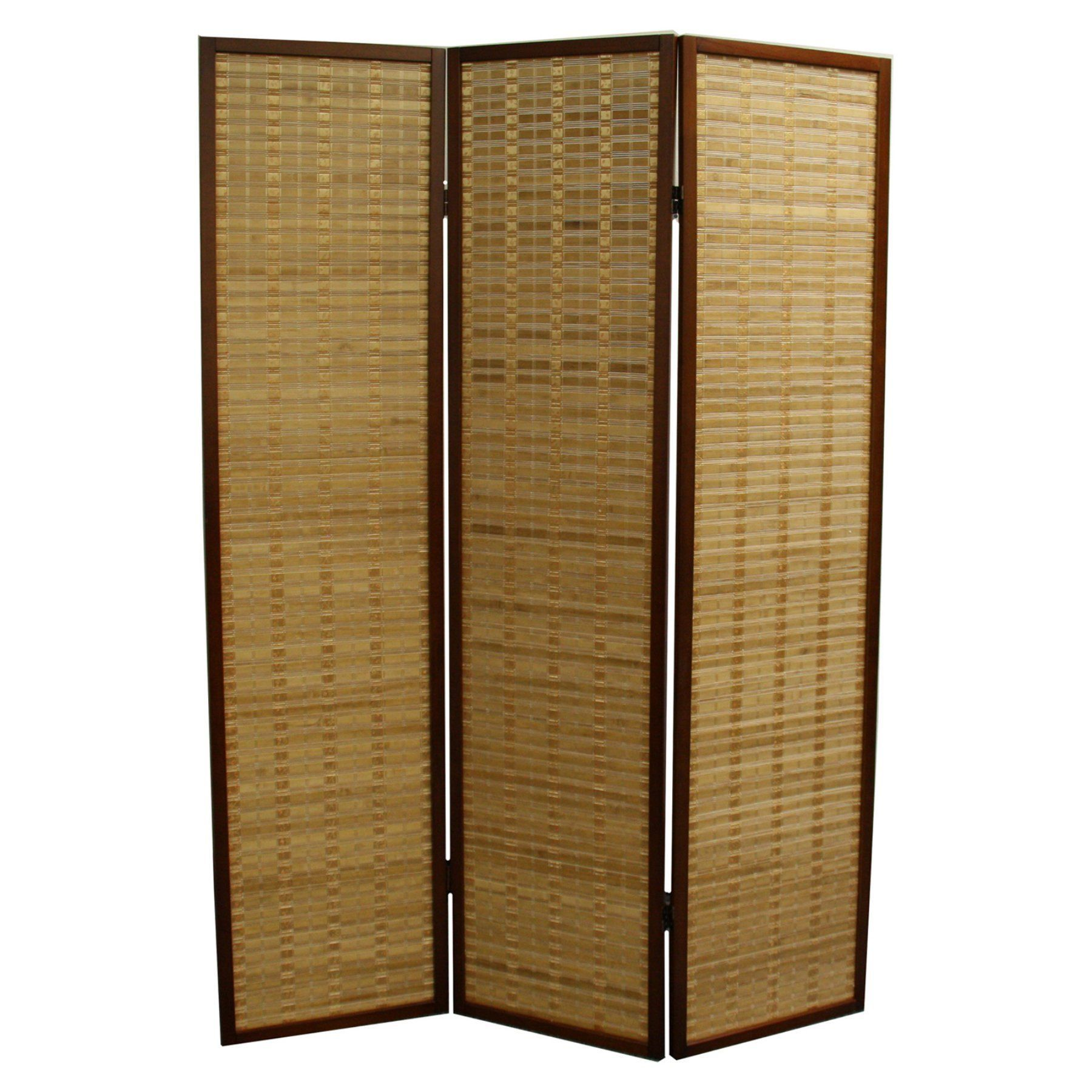 Ore international bamboo panel room divider nybp
