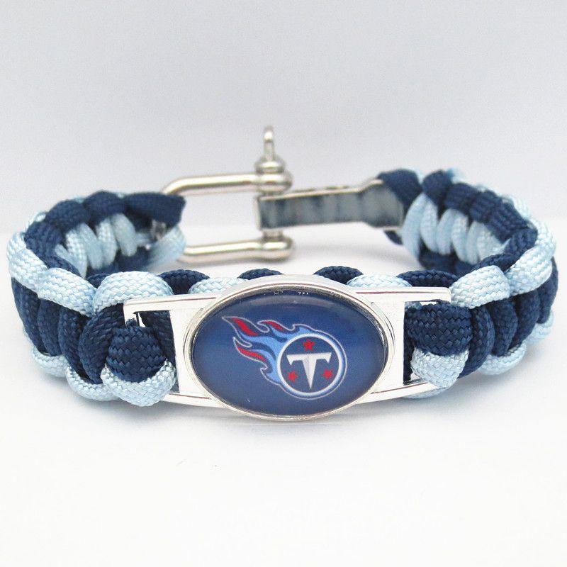 7f2e0c56 NFL Tennessee Titans Paracord Bracelet Sports Teams Jewelry Football ...