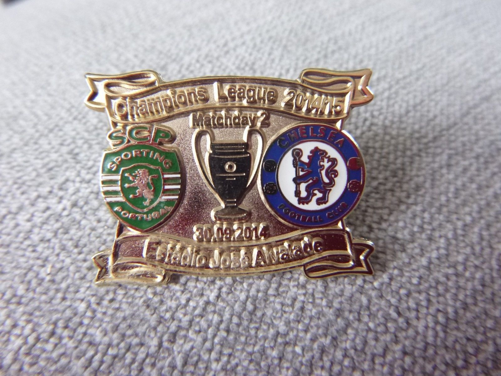 Sporting Lisbon V Chelsea 2014 2015 Champions League Match Day