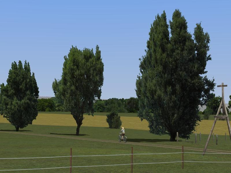 Birnbäume, Weiden, Linden und Büsche. Ab #EEP8 http://bit.ly/Birnbäume-Weiden-Linden-Büsche