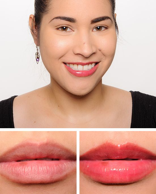 Christine from Temptalia wearing MAC Night is Young Cremesheen Glass