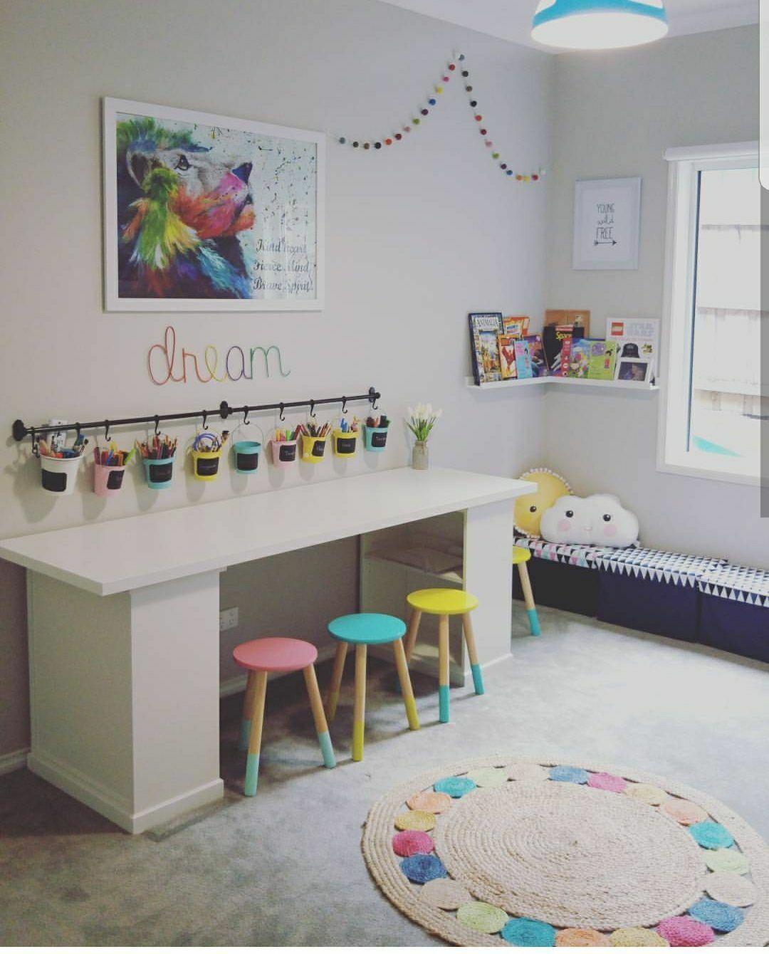 Kids Play Room Idea Kids Rooms Playrooms In 2019 Ikea