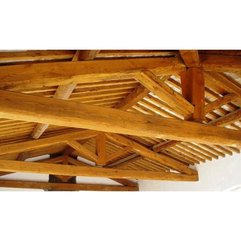 CHINUCCI LEGNAMI: Prodotti per edilizia in castagno - Capriate in castagno
