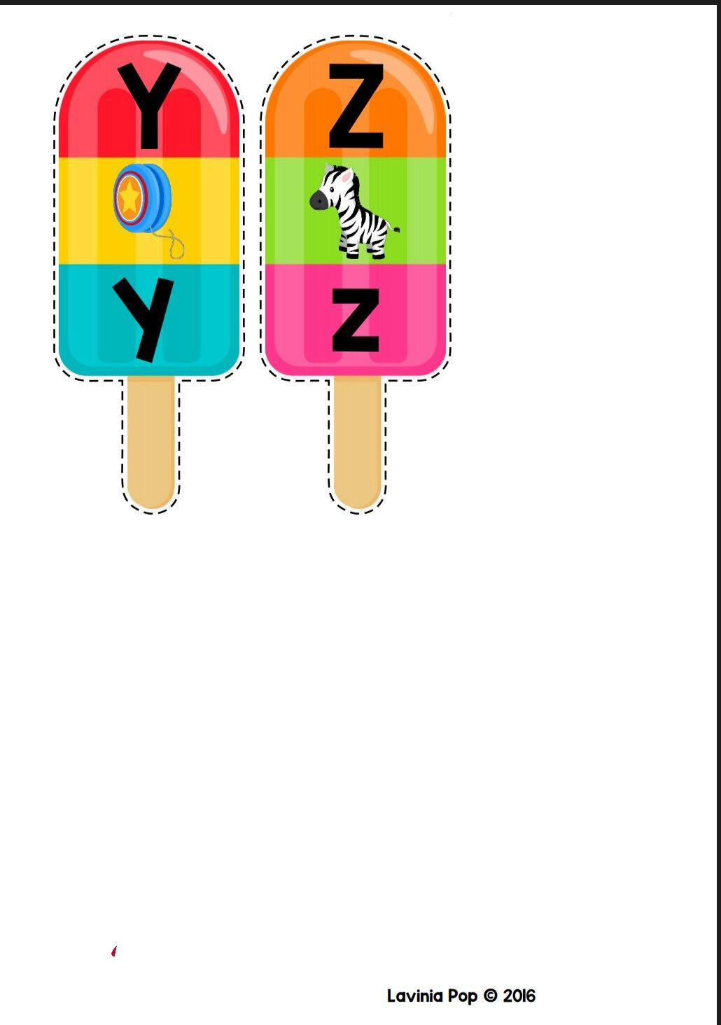 Paletas Alfabeto Preescolar Abecedario Para Ninos Lecto Escritura Preescolar