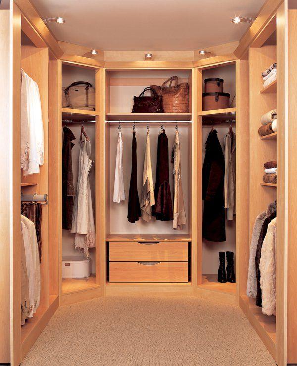Begehbarer Kleiderschrank   wie Sie die perfekte Ordnung ...