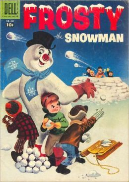Frosty the snowman comic books
